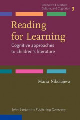 Omslag - Reading for Learning