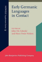 Omslag - Early Germanic Languages in Contact