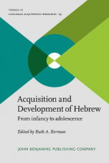 Omslag - Acquisition and Development of Hebrew