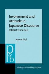 Omslag - Involvement and Attitude in Japanese Discourse