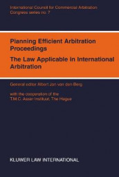 Planning Efficient Arbitration Proceedings av Albert Jan van den Berg (Heftet)