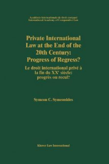 Private International Law at the End of the 20th Century av Symeon Symeonides (Innbundet)