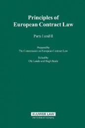 The Principles of European Contract Law av Hugh Beale, Ole Lando og The Commission On European Contract Law (Innbundet)