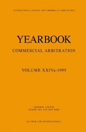 Yearbook Commercial Arbitration Volume XXIVa - 1999 av Albert Jan van den Berg (Heftet)