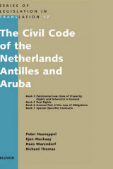 Omslag - The Civil Code of the Netherlands Antilles and Aruba