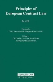 Principles of European Contract Law - Part III av Eric Clive, Ole Lando, Andre Prum og Reinhard Zimmerman (Innbundet)