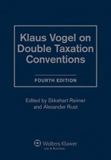 Omslag - Klaus Vogel on Double Taxation Convention