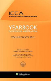 Yearbook Commercial Arbitration Volume XXXV - 2012 av Albert Jan van den Berg (Innbundet)