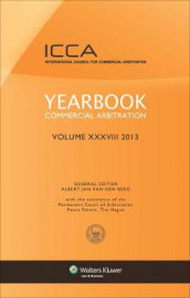 Yearbook Commercial Arbitration Volume XXXVIII 2013 av Albert Jan van den Berg (Innbundet)
