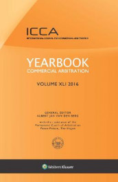 Yearbook Commercial Arbitration, Volume XLI 2016 av Albert Jan van den Berg (Innbundet)
