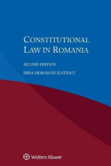 Omslag - Constitutional Law in Romania