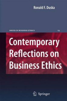 Contemporary Reflections on Business Ethics av Ronald F. Duska (Heftet)