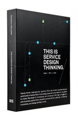 Omslag - This is Service Design Thinking.