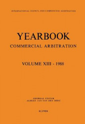 Yearbook Commercial Arbitration Volume XIII - 1988 av Albert Jan van den Berg (Heftet)