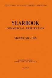 Yearbook Commercial Arbitration Volume XIV - 1989 av Albert Jan van den Berg (Heftet)
