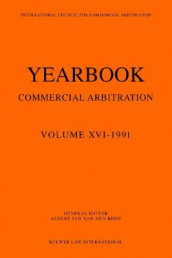 Yearbook Commercial Arbitration Volume XVI - 1991 av Albert Jan van den Berg (Heftet)