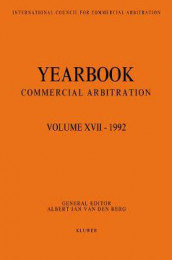 Yearbook Commercial Arbitration Volume XVII - 1992 av Albert Jan van den Berg (Heftet)