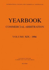 Yearbook Commercial Arbitration Volume XIX - 1994 av Albert Jan van den Berg (Heftet)
