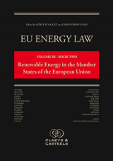 Omslag - EU Energy Law, Volume 3: Renewable Energy in the Member States of the EU