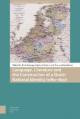 Omslag - Language, Literature and the Construction of a Dutch National Identity (1780-1830)