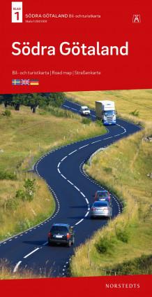 gøtaland kart Södra Götaland Bil & Turistkarta Nr 1 : Skala 1:250.000 (Kart  gøtaland kart
