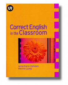 Correct English in the Classroom av Sveriges Utbildningsradio (Heftet)