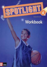 Omslag - Spotlight 4 workbook