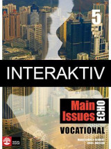 Omslag - Echo 5 Main Issues Vocational Elevbok Interaktiv