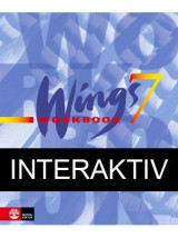 Omslag - Wings 7 Blue Workbook Interaktiv