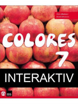 Omslag - Colores 7 Textbok Interaktiv 12mån