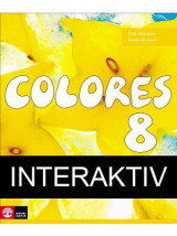 Omslag - Colores 8 Textbok Interaktiv 12mån