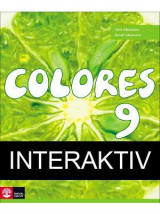 Omslag - Colores 9 Textbok Interaktiv 12mån