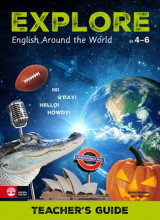 Omslag - Explore Teacher's guide : English Around The World