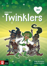 Omslag - English Twinklers green Jen