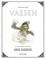 Omslag - Sketches from Vaesen - A Colouring Book