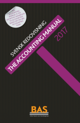 Omslag - The Accounting Manual 2017 : svensk redovisning
