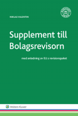 Omslag - Supplement till Bolagsrevisorn : med anledning av EU:s revisionspaket