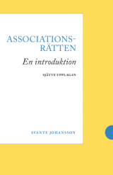 Omslag - Associationsrätten : en introduktion