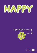 Happy Teacher's Guide inkl CD Year 3 av Catarina Hansson (Spiral)