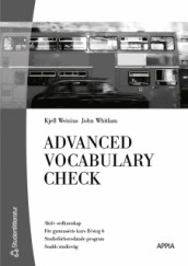 Advanced Vocabulary Check (10-pack) - Engelska 6 av Kjell Weinius og John Whitlam (Annet bokformat)