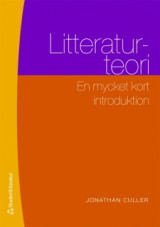 Omslag - Litteraturteori : en mycket kort introduktion