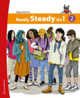 Omslag - Ready Steady Go! 2 Elevpaket (Bok + digital produkt)
