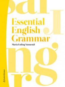 Essential English Grammar av Maria Estling Vannestål (Heftet)