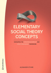 Elementary Social Theory Concepts - Navigating the Consensus/Conflict and Structure/Agency Framework av Alexander Styhre (Heftet)