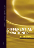 Omslag - Differentialekvationer med historik