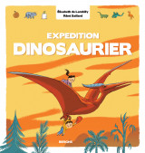Omslag - Expedition Dinosaurier