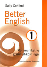 Better English 1 övningsbok av Sally Ocklind (Heftet)