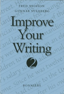 Improve Your Writing 2 Kurs B (5-pack) av Fred Nilsson og Gunnar Svedberg (Heftet)
