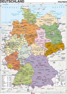 Karta Over Tyskland Av Angiven Ej Innbundet Tanum Nettbokhandel