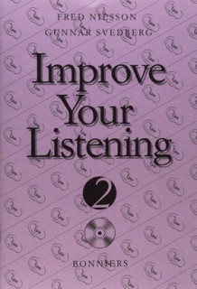 Improve Your Listening 2 inkl. cd Kurs B (5-pack) av Fred Nilsson og Gunnar Svedberg (Heftet)